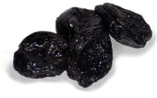 Чернослив — калорийность, полезные вещества, плюсы и минусы