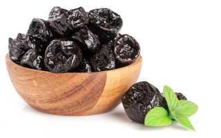 Особенности применения чернослива в составе диетического меню