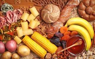 Какие продукты относятся к углеводам: таблица для рациона