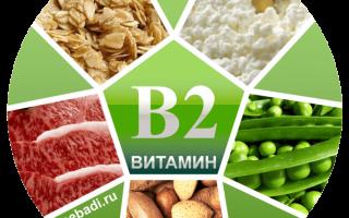 Польза витамина В2 для организма, опасность его дефицита