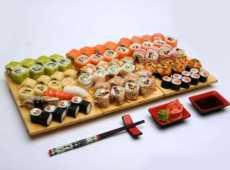 Таблица калорийности роллов и суши