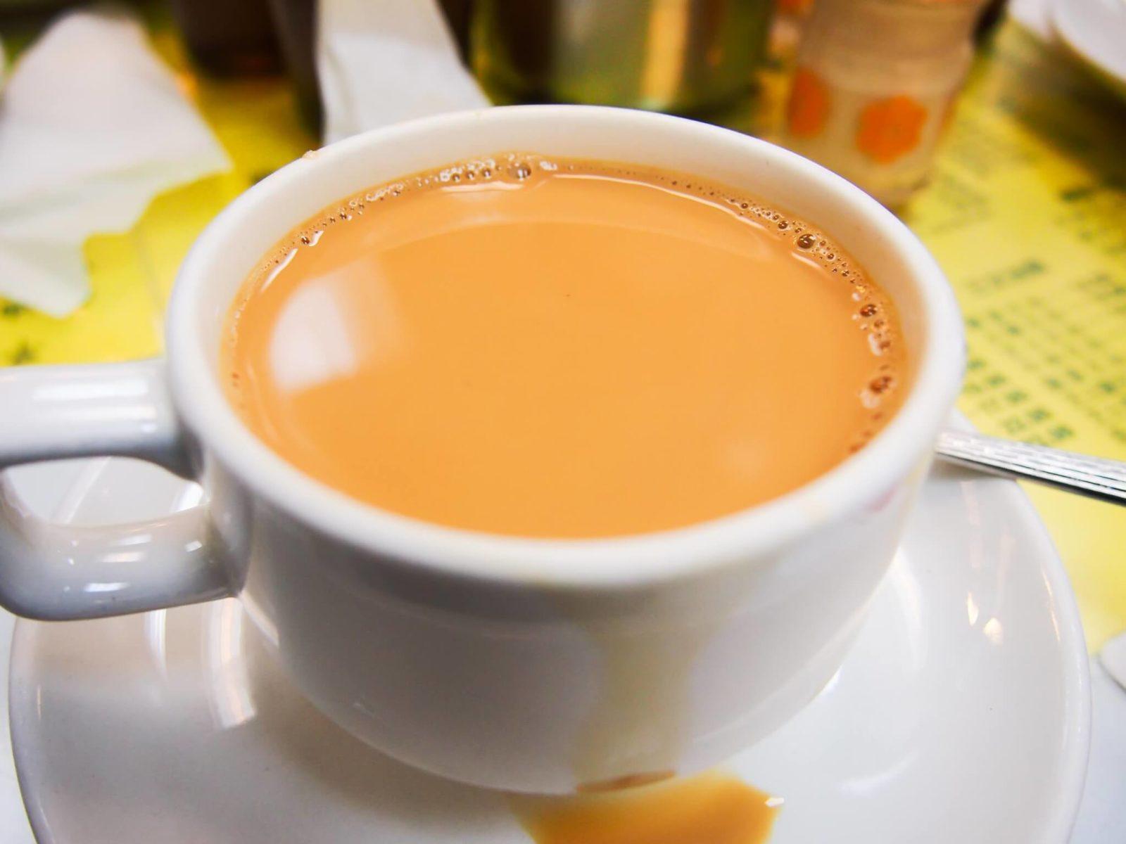 крепкий чай с молоком для похудения