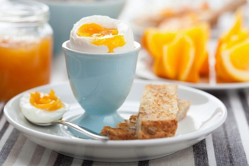 яйца и апельсин