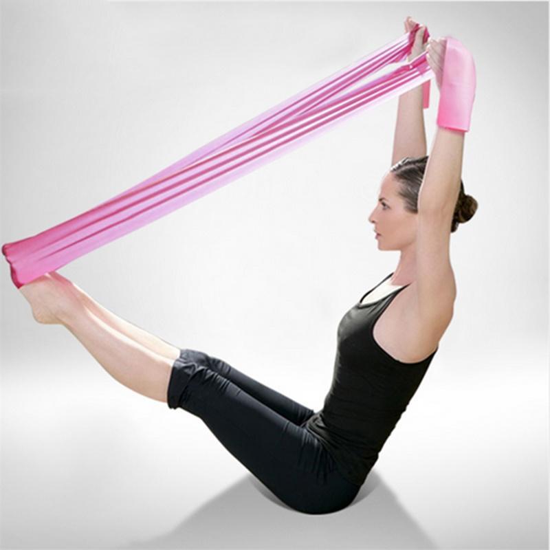 Подъем ног и корпуса с лентой