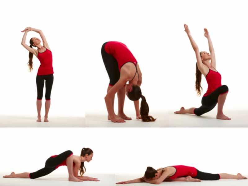 Упражнения Стретчинга для начинающих 2