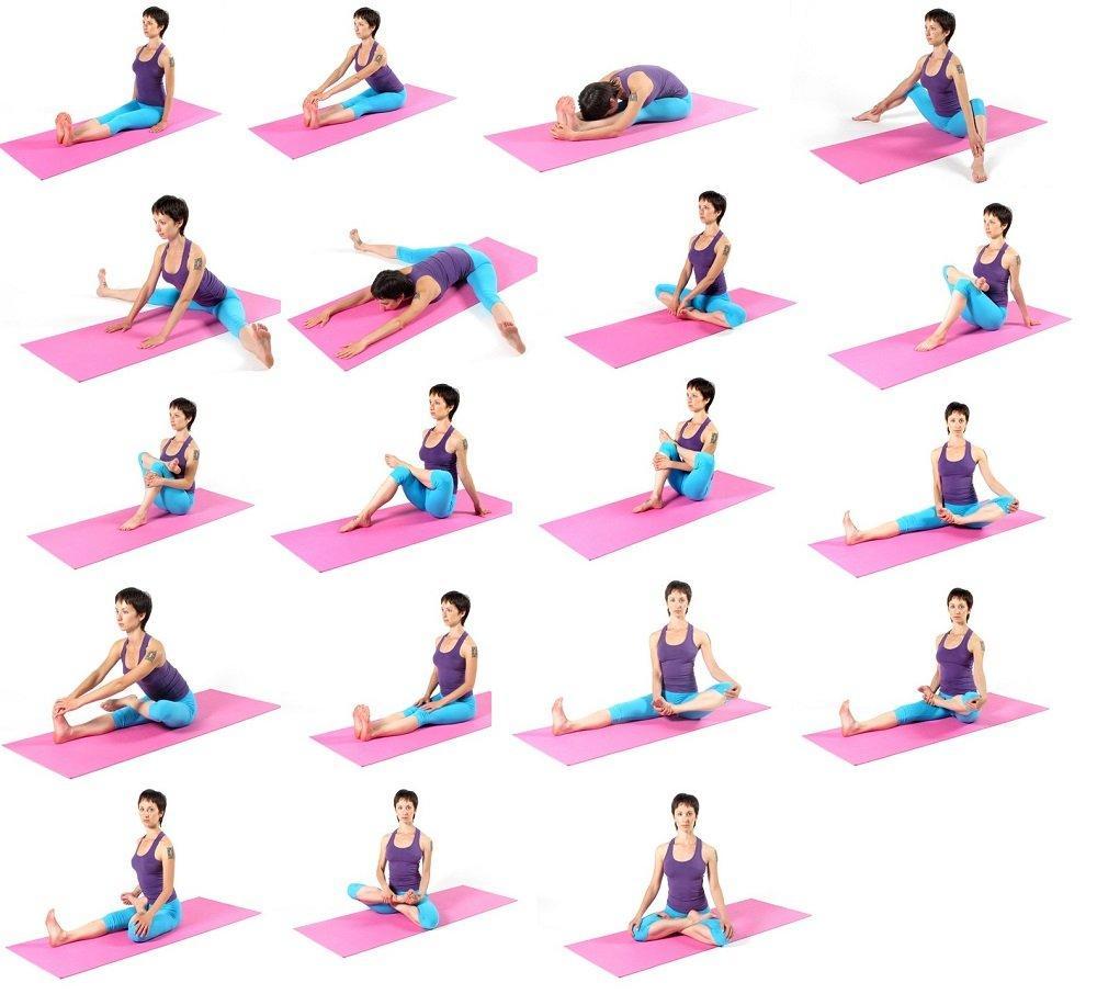 Упражнения Стретчинга для начинающих